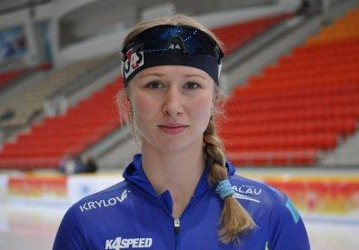 Коньки спорты. Екатерина Айдова 1500 метрлік қашықтықты 18-ші орында аяқтады