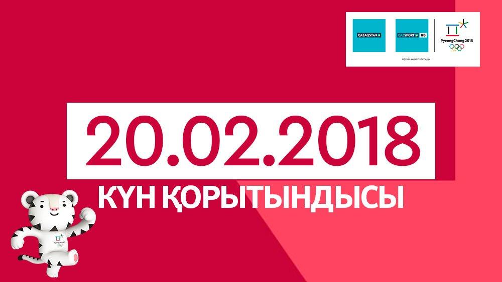 Пхенчхан-2018. 20-ақпан күнгі қазақстандық спортшылардың нәтижелері